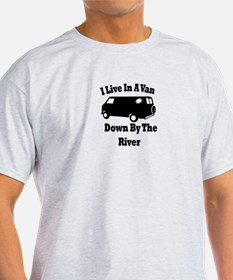 Van By The River T-Shirt