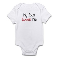 My Pops Loves Me Infant Bodysuit