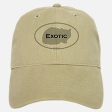Exotic Oval Baseball Baseball Cap
