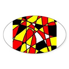 St. Germain Oval Decal