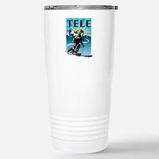 Unique Skiing Travel Mug