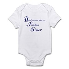 Behind every cancer patient Infant Bodysuit