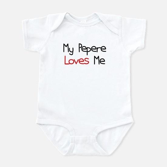 My Pepere Loves Me Infant Bodysuit
