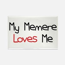 My Memere Loves Me Rectangle Magnet