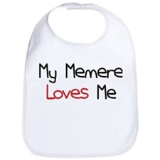 My Memere Loves Me Bib