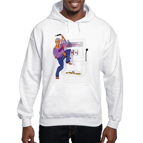 Gambling Casino Grandpa Hooded Sweatshirt