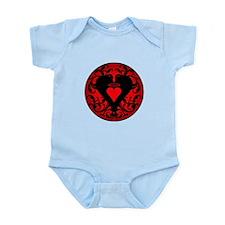 My Red Angel Heart Infant Bodysuit