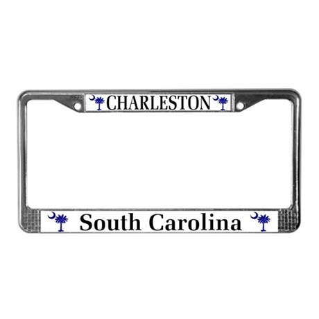Charleston South Carolina License Plate Frame