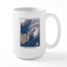 Volcano From Space Mug