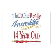 Incredible At 14 Postcards (Package of 8)