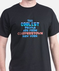 Coolest: Cooperstown, NY T-Shirt