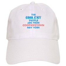 Coolest: Cooperstown, NY Baseball Cap