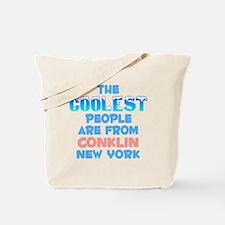 Coolest: Conklin, NY Tote Bag