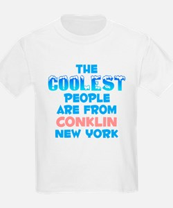 Coolest: Conklin, NY T-Shirt