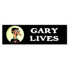 """Gary Lives"" bumper sticker"