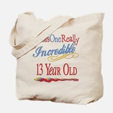 Incredible At 13 Tote Bag