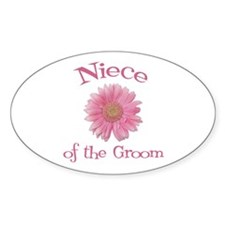 Daisy Groom's Niece Oval Decal