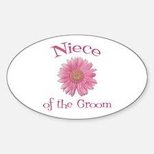 Daisy Groom's Niece Oval Decal