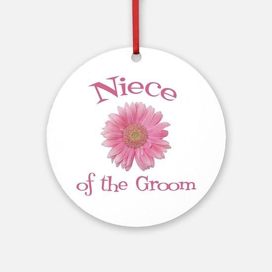 Daisy Groom's Niece Ornament (Round)
