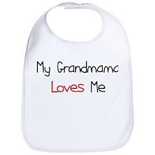 My Grandmama Loves Me Bib
