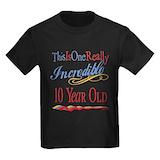 10 year old Kids T-shirts (Dark)