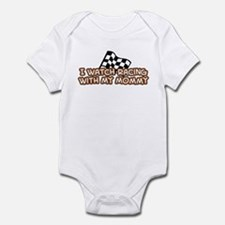 20 Racing Mommy Infant Bodysuit