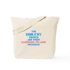 Coolest: Harsens Island, MI Tote Bag