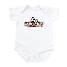 20 Racing Daddy Infant Bodysuit