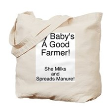 Farmer Baby - Girl Tote Bag