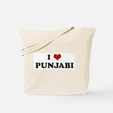 I Love PUNJABI Tote Bag