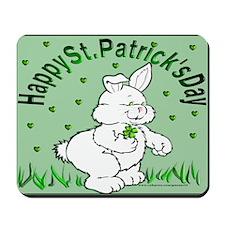 Clover Bunny Mousepad