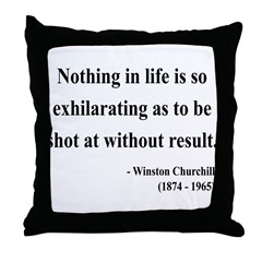 Winston Churchill 16 Throw Pillow