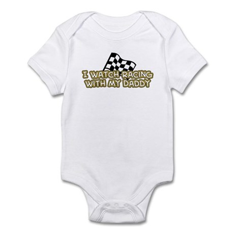17 Racing Daddy Infant Bodysuit