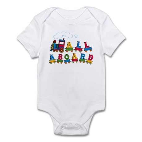 All Aboard Infant Bodysuit
