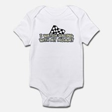 48 Racing Mommy Infant Bodysuit