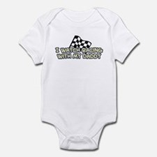48 Racing Daddy Infant Bodysuit