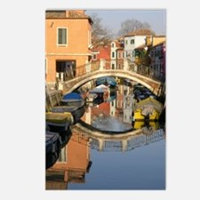 painted bridge Postcards (Package of 8)