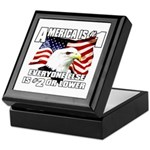 AMERICA IS #1 Keepsake Box