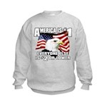 AMERICA IS #1 Kids Sweatshirt