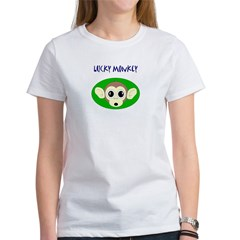 lucky monkey Women's T-Shirt