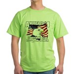 AMERICA IS #1 Green T-Shirt