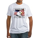 AMERICA IS #1 Fitted T-Shirt