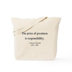 Winston Churchill 18 Tote Bag