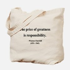 Winston Churchill 18 Tote Bag