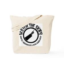 Watch the Skies Tote Bag