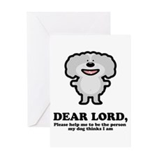 Dear Lord Greeting Card