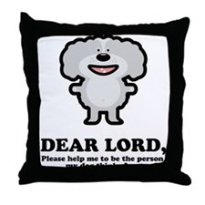 Dear Lord Throw Pillow
