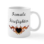 Female Firefighter Mug