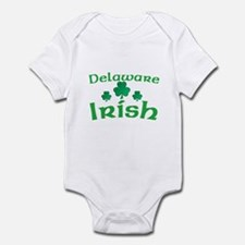 Delaware Irish Shamrocks Infant Bodysuit