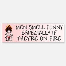Funny Scary Feminist Bumper Bumper Bumper Sticker